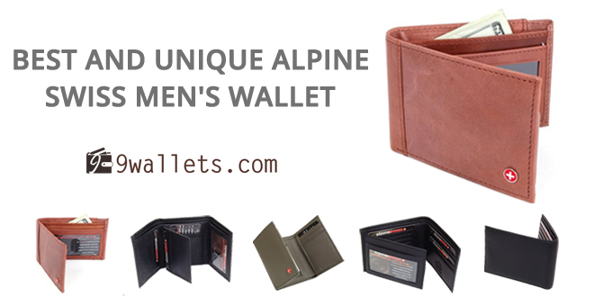 Best and unique Alpine Swiss Men's wallet