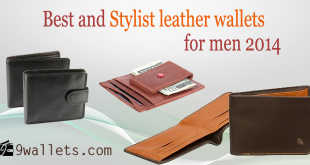 Best and Stylist leather wallets for men 2014