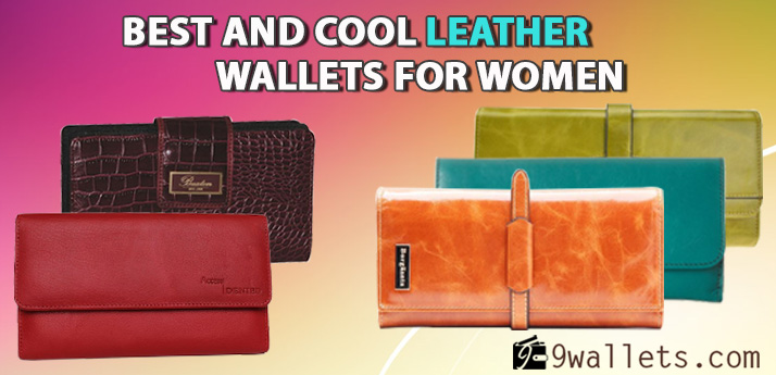 Best and cool leather wallets for women 2014