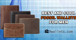 Best and cool Fossil wallets for men