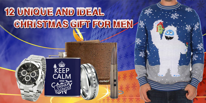 12 Unique and Ideal Christmas gift for men
