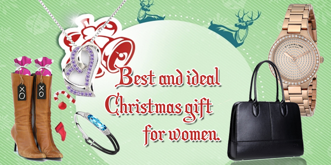 Best and ideal Christmas gift for women.