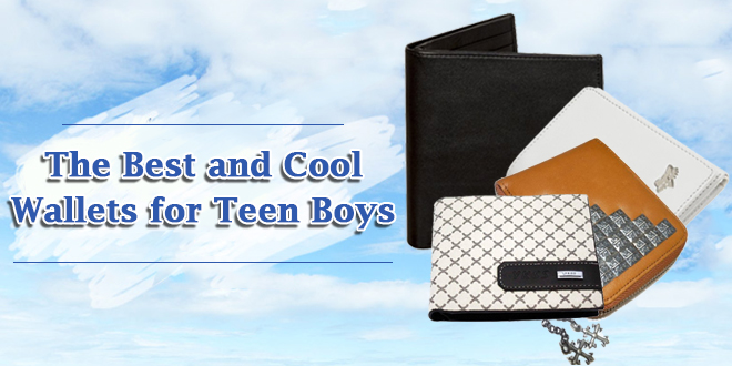 The Best and Cool Wallets for Teen Boys