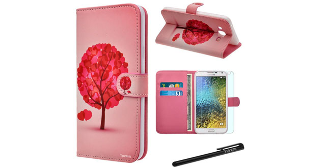 low priced 4232e a8fff Best and cool Samsung Galaxy E7 wallet cases - TheNewWallet