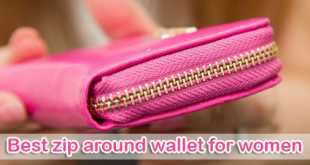 best zip around wallet for women
