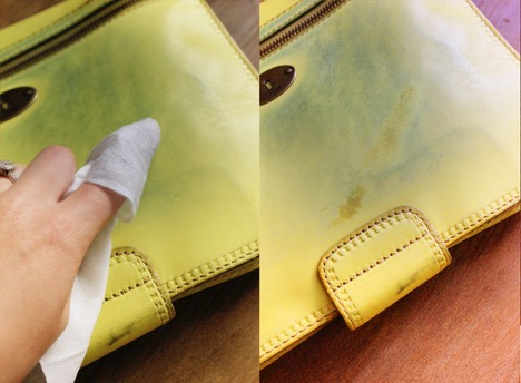 How to remove stains from a leather wallet 2